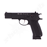 CZ 75 Vollmetall CO2 Pistole - BlowBack / 4,5 mm BB