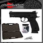 CZ SP-01 Shadow NBB CO2 Pistole 4,5mm Stahl-BBs - Koffer-Set