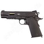 Colt 1911 Custom CO2 Pistole 4,5mm Stahl BB - Blowback