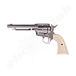 Colt SAA .45-5.5 CO2-Revolver 4,5mm - Nickel finish