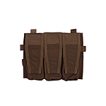 Crye Licensed AVS/JPC Front Panel 3-fach 5.56 Pouch - Coyote