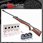 DIANA Two Fifty 250 Luftgewehr 4,5mm Diabolos Biathlon-Set