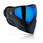DYE i5 Thermal Maske/Goggle Paintball/Airsoft STORM black/blue