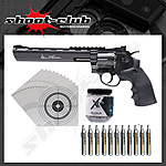 Dan Wesson 8 Zoll CO2-Revolver 4,5mm Stahl BB - Set