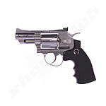 Dan Wesson CO2 Revolver 2,5 Zoll Kal. 4,5 mm max. 1,7 J - silber