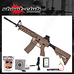 G&G CM16 Raider L AEG TAN 0,5 J 6mm Airsoft ab14 - Set