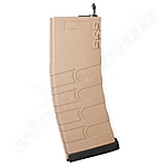 G&G M4, M16 Mid Cap Magazin. 120 BB 6mm Softair Tan/BK