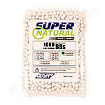 Geoffs 0,43g 6 mm Airsoft Bio BBs Super Natural Precision weiß - 1000 Schuss