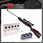 Hämmerli Hunter Force 750 Luftgewehr 4,5mm Diabolos - Biathlon-Set