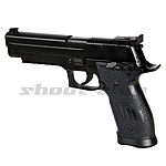 KWC P226 Match Full Metal CO2 Airsoft Pistole ab18 - Black