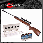 Ruger Air Scout Rancher Kit Luftgewehr Kal. 4,5mm Diabolos im Biathlon-Set