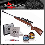 Ruger Air Scout Rancher Kit Luftgewehr Kal. 4,5mm - Kugelfang-Set