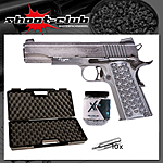 Sig Sauer 1911 WTP CO2 Pistole 4,5 mm BB - Koffer-Set