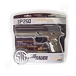 Sig Sauer P250 BlowBack CO2 Pistole Bicolor - 4,5mm