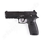 Sig Sauer P250 CO2 Pistole Kaliber 4,5mm Diabolos - Blowback