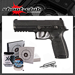 Sig Sauer P320 CO2 4,5mm BBs & Diabolos - Kugelfang-Set