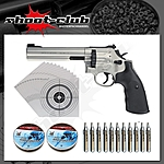 Smith & Wesson 686 CO2-Revolver 4,5mm Diabolo  - Set