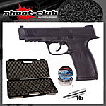 Smith & Wesson M&P 45 4,5 mm Diabolos schwarz - Koffer-Set