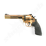 Smith & Wesson 686 CO2 Revolver 6 Kal. 4,5mm Diabolos - gold finish