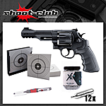 Smith&Wesson M&P R8 CO2-Revolver 4,5mm Stahl BB -Set