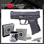 Springfield XDM compact CO2 Pistole Kal. 4,5mm Stahl BBs im Set