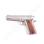 Swiss Arms 1911 Stainless CO2 Pistole 4,5mm Stahl BB