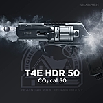 Umarex T4E HDR 50 CO2 Paintball Revolver .50