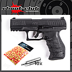 Walther PPQ M2 T4E RAM Markierer CO2 Kaliber .43 - 4 Joule im Set mit Battle Dust Powderballs