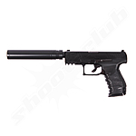 Walther PPQ Navy Kit Softair Pistole 0,5 Joule + Magazin