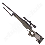Well L96 MB-01 Airsoft Sniper Set Upgraded 6mm - OD Green