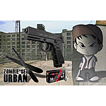 Zombie Set - Urban - Machete MP9 & ISSC M22 9mm P.A.K