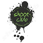 shoot-club Sticker Klecks - Motiv oval - transparent
