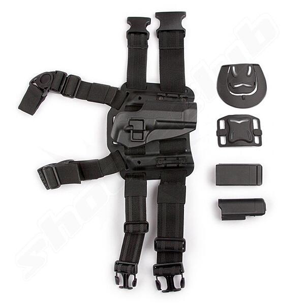 Holster Glock Serie Bein & Hüfte Tiefziehholster BK