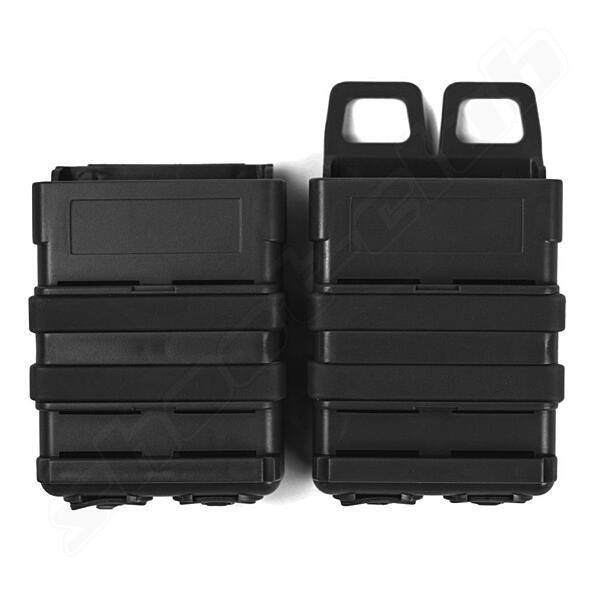 Magazintasche Fastmag Clip Style 5,56 M4 - schwarz BK