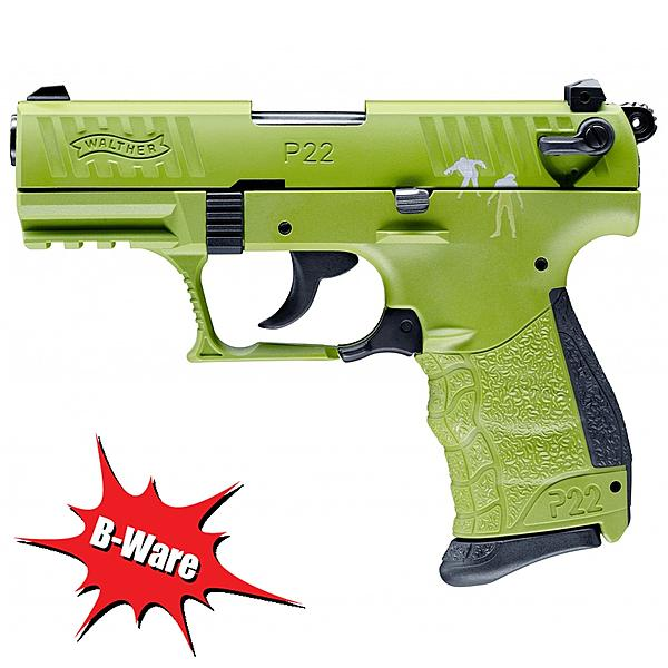 B-Ware Walther P22Q Signalpistole Kal. 9mm Zombster