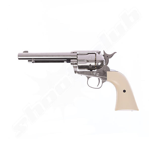 COLT SAA .45 Peacemaker CO2-Revolver - 4,5mm - Nickel