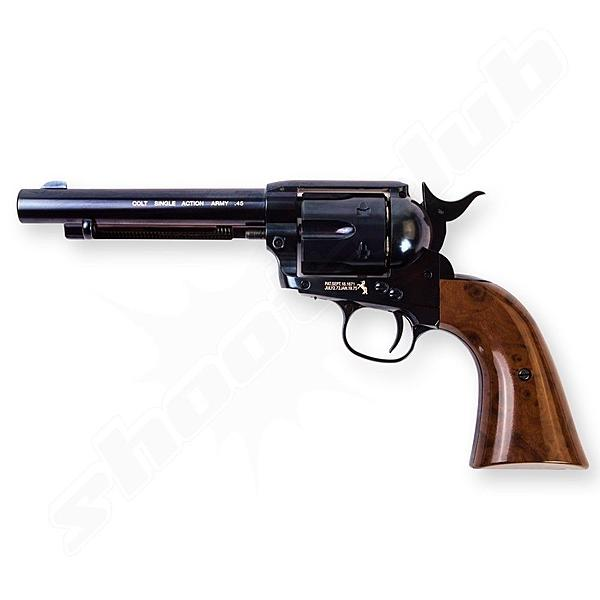 COLT SAA .45 Peacemaker CO2 Revolver Kal. 4,5mm Stahl BBs - Blue