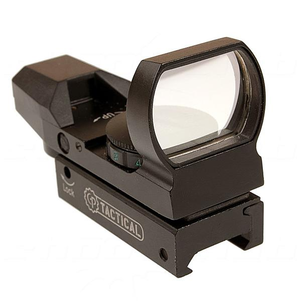 Center Point Tactical Open Reflex Sight - mit 4 versch. Fadenkreuzen