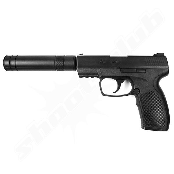 Combat Zone COP Softair Pistole 6mm CO2 NBB - 2 Joule