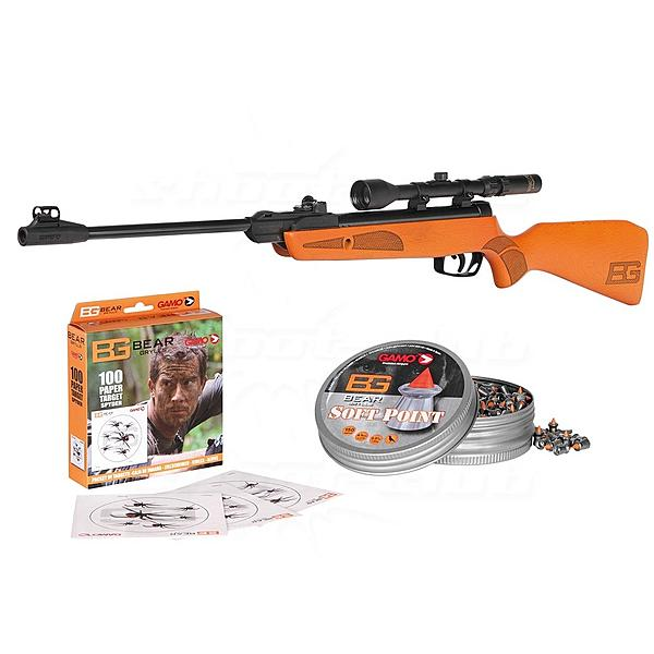 Gamo Bear Grylls Young Explorer Luftgewehr Set Kal. 4,5mm