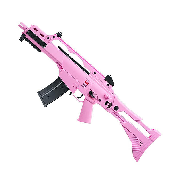 H&KG36 C IDZ Softair Gewehr Kal. 6 mm - Pink Edition