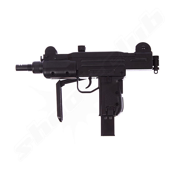 IWI Mini UZI CO2 Airgun Kal. 4,5 mm Stahl BBs 3,0 Joule