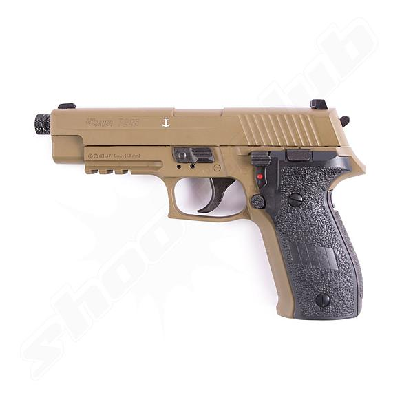 Sig Sauer P226 CO2 Pistole Dark Earth - 4,5mm Diabolos