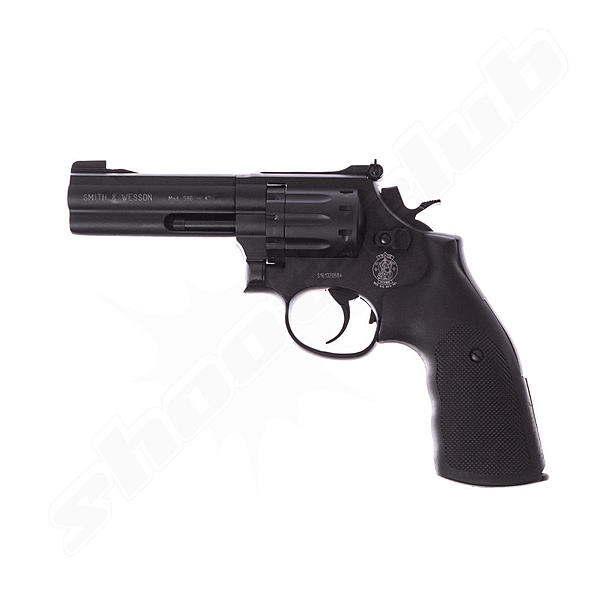 Smith & Wesson 586 4,5mm Diabolo, 4 Zoll , Co2 Revolver