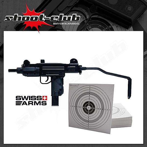 Swiss Arms Protector CO2 Gewehr Kal. 4,5mm + 25 ZS