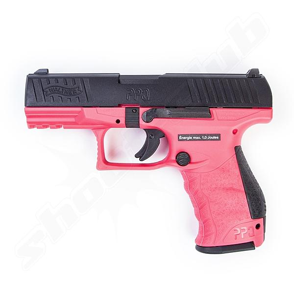 VFC Walther PPQ M2 Softair Pistole GBB 1J Pink Edition