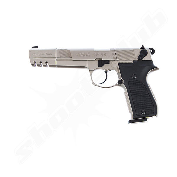 Walther CP88 Competition vernickelt CO2 Pistole - 4,5 mm