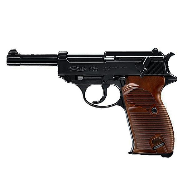 Walther P38 Vollmetall CO2 GBB Softair Pistole 6mm 2 J