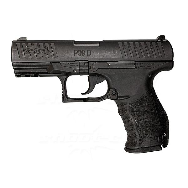Walther P99 D - 15R AM PS - 9x19 - 9mm Luger - Sammlerst�ck