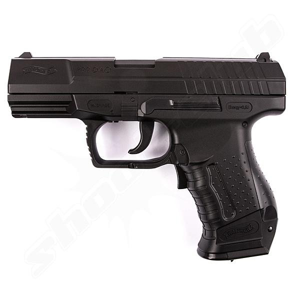 Walther P99 DAO AEP Softair Pistole vollauto. - 0,5J